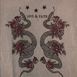 Love & Faith blouse